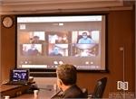 افتتاح سامانه ویدئو کنفرانس شرکت انبارهای عمومی و خدمات گمرکی ایران